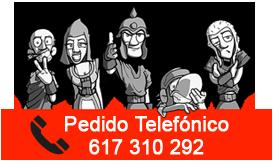 Número de teléfono de la tienda online de diseños personalizados Numanguerrix