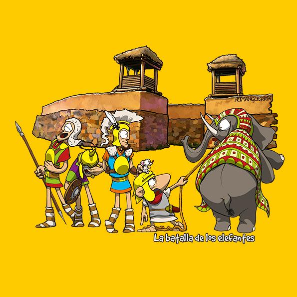 La batalla de los elefantes