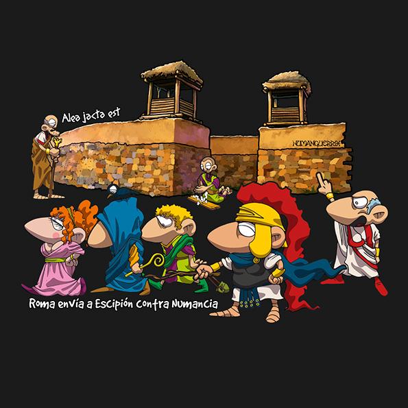 Roma envia a Escipión contra Numancia