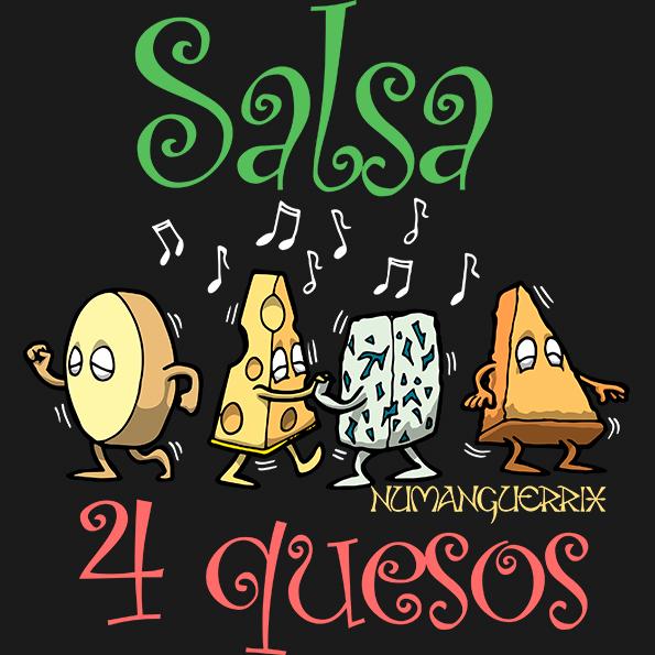 Salsa 4 Quesos
