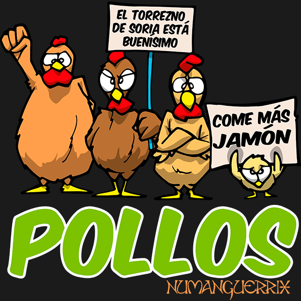 Pollos reivindicativos