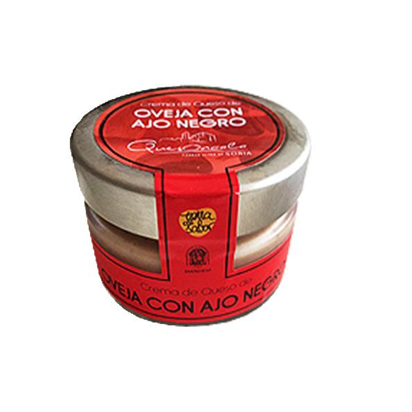 Crema de Queso con ajo rojo