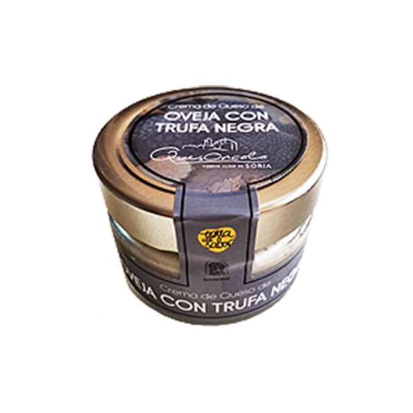 Crema de Queso con trufa negra