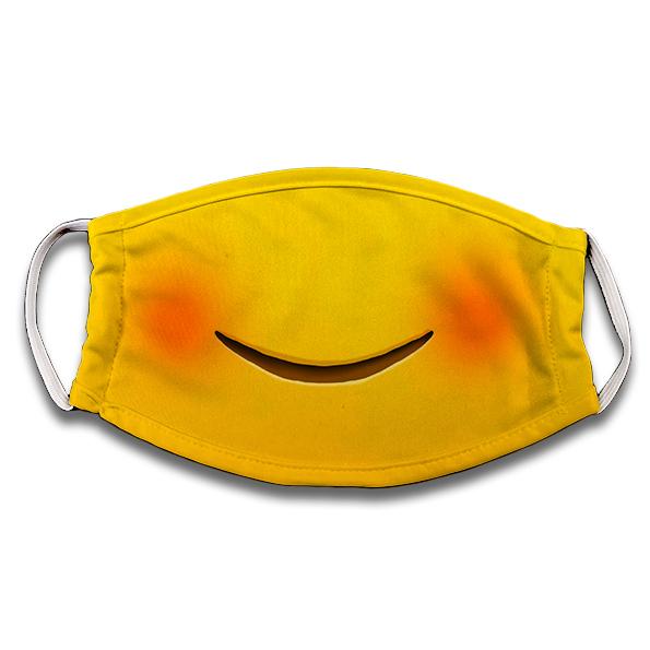 Mascarilla Emoji feliz