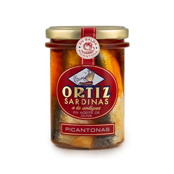 """Sardinas """"A la antigua"""" Picantonas"""