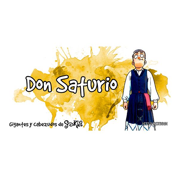 Taza Don Saturio