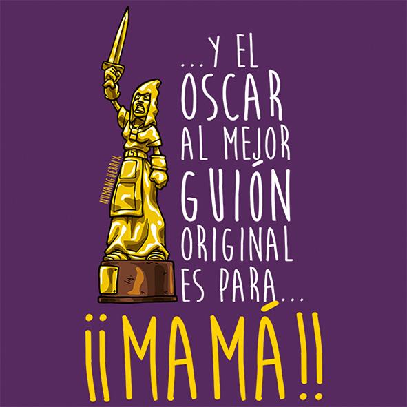 Y el Oscar es para... Mamá!!